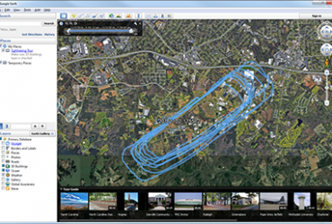 GPS Flight Tracking- video